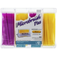 MicroBrush Plus Refill Fine Geel - Roze