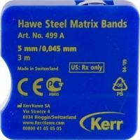 Hawe Stalen Matrixband 499A - 5mm - 0,45mm