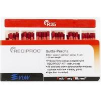 Gutta Percha Points Reciproc Refill R25 - Rood