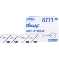 Kleenex Ultra Handdoeken Super Soft Intergevouwen Wit 21,5 x 31,5cm