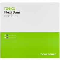 Cofferdamvellen Non-Latex Flexi Dam Blauw