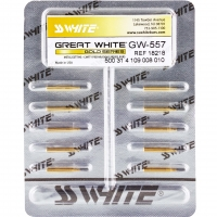 Great White FG 107 ISO 010 Gold GW557