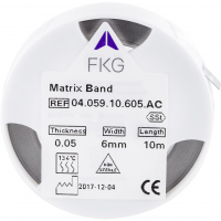 Matrixband 6x0,05 mm