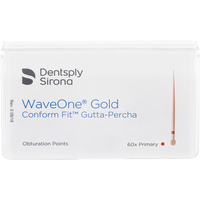 Gutta Percha Points Comfort Fit WaveOne Gold Primary