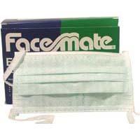 Mondmaskers Koordjes FaceMate Groen